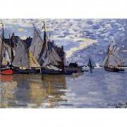 Pôster Decorativo A4 Sailboats 1866 - Claude Monet Cosi Dimora