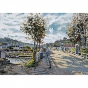 Pôster Decorativo A4 The Bridge at Bougival - Claude Monet Cosi Dimora