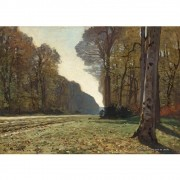 Pôster Decorativo A4 The Pave de Chailly - Claude Monet Cosi Dimora
