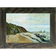 Quadro Decorativo A4 Boatyard Near Honfleur - Claude Monet Cosi Dimora