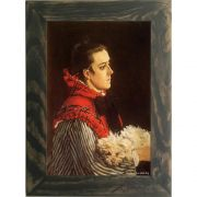 Quadro Decorativo A4 Camille With a Small Dog - Claude Monet Cosi Dimora