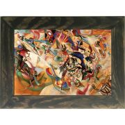Quadro Decorativo A4 Composition 7 - Kandinsky Cosi Dimora