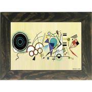 Quadro Decorativo A4 Doodle - Kandinsky Cosi Dimora