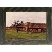 Quadro Decorativo A4 Farm Near Honfleur - Claude Monet Cosi Dimora