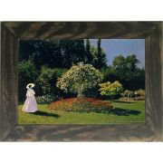 Quadro Decorativo A4 Jeanne Marguerite Lecadre in the Garden - Claude Monet Cosi Dimora