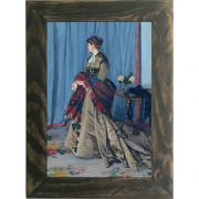 Quadro Decorativo A4 Portrait of Madame Gaudibert - Claude Monet Cosi Dimora