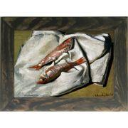 Quadro Decorativo A4 Red Mullets - Claude Monet Cosi Dimora