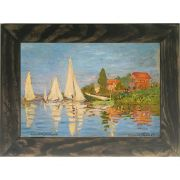 Quadro Decorativo A4 Regatta at Argenteuil - Claude Monet Cosi Dimora