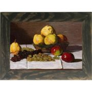 Quadro Decorativo A4 Still Life With Pears and Grapes - Claude Monet Cosi Dimora