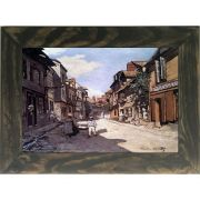 Quadro Decorativo A4 Street of the Bavolle Honfleur - Claude Monet Cosi Dimora