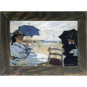 Quadro Decorativo A4 The Beach at Trouville - Claude Monet Cosi Dimora