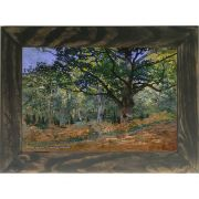 Quadro Decorativo A4 The Bodmer Oak Fontainebleau - Claude Monet Cosi Dimora