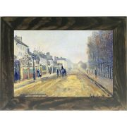 Quadro Decorativo A4 The Boulevard Heloise in Argenteuil - Claude Monet Cosi Dimora