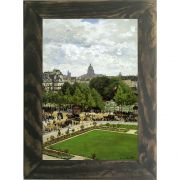 Quadro Decorativo A4 The Garden of the Princess 1867 - Claude Monet Cosi Dimora