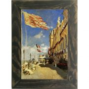Quadro Decorativo A4 The Hotel des Roches Noires at Trouville 1870 - Claude Monet Cosi Dimora