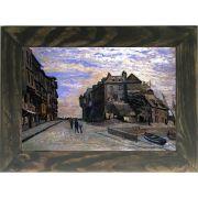 Quadro Decorativo A4 The Lieutenancy at Honfleur - Claude Monet Cosi Dimora