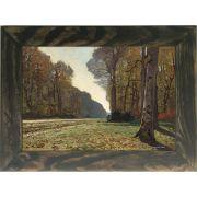 Quadro Decorativo A4 The Pave de Chailly - Claude Monet Cosi Dimora