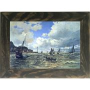 Quadro Decorativo A4 The Seine Estuary at Honfluer - Claude Monet Cosi Dimora
