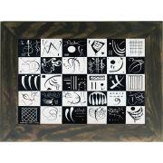 Quadro Decorativo A4 Trirty 1937 - Kandinsky Cosi Dimora