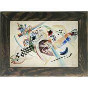 Quadro Decorativo A4 Wassily - Kandinsky Cosi Dimora