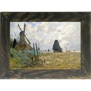 Quadro Decorativo A4 Windmill Near Zaandam - Claude Monet Cosi Dimora
