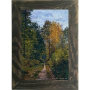 Quadro Decorativo A4 Wooded Path 1865 - Claude Monet Cosi Dimora