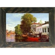 Quadro Decorativo A4 Zaan at Zaandam 1 - Claude Monet Cosi Dimora