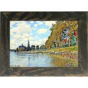Quadro Decorativo A4 Zaandam - Claude Monet Cosi Dimora