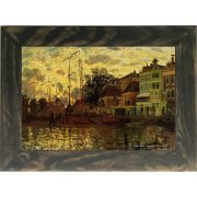 Quadro Decorativo A4 Zaandam the Dike Evening - Claude Monet Cosi Dimora