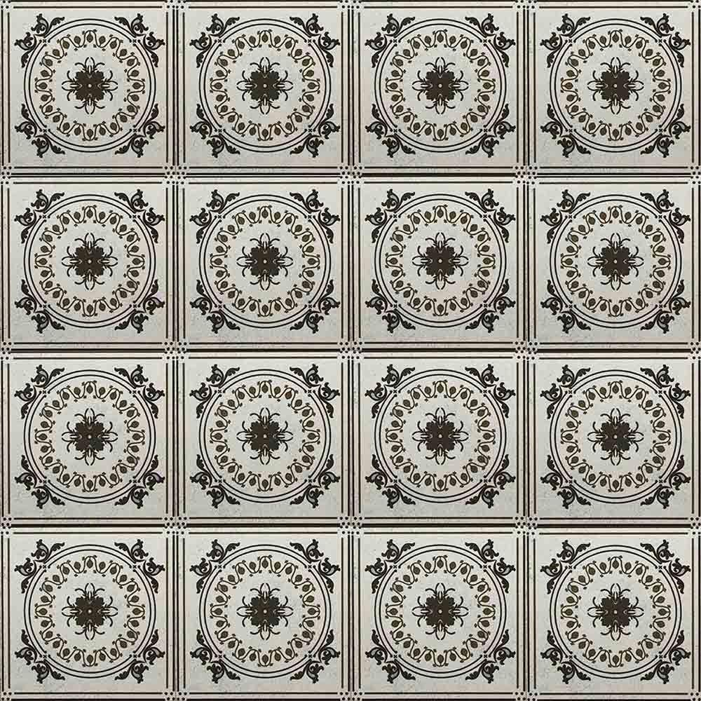 Adesivo para Azulejo Ladrilho Hidráulico Astúrias Vinil 15x15cm 16 peças Cosi Dimora