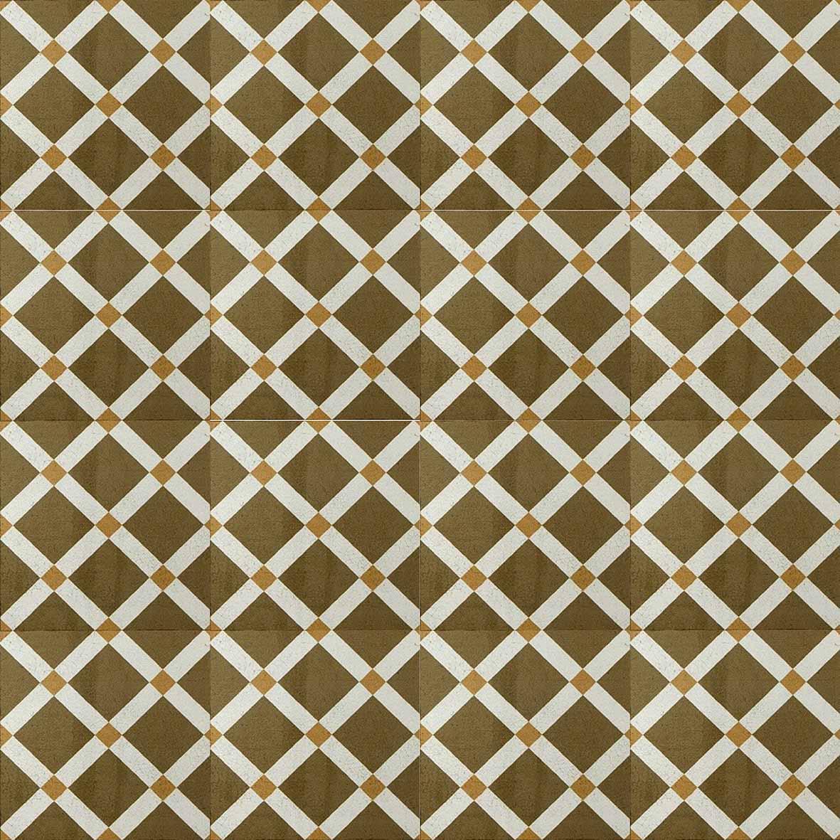 Adesivo para Azulejo Ladrilho Hidráulico Bilbao Vinil 15x15cm 16 peças Cosi Dimora
