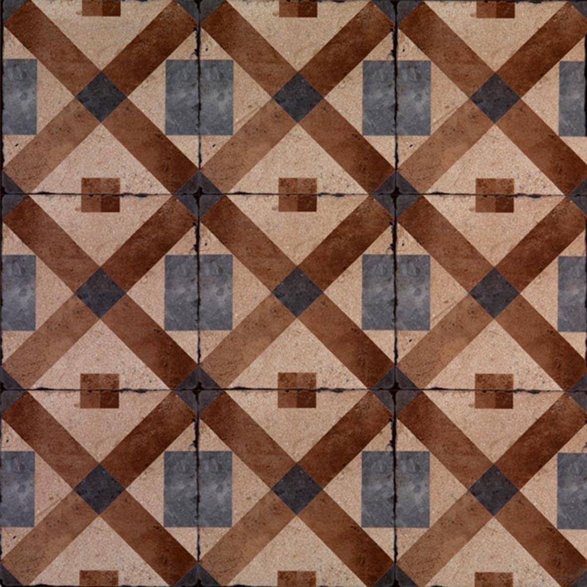 Adesivo para Azulejo Ladrilho Hidráulico Córdoba Vinil 15x15cm 16 peças Cosi Dimora