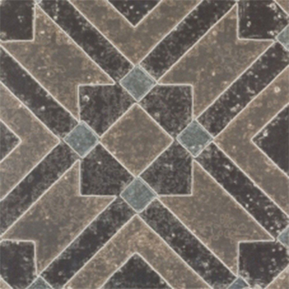 Adesivo para Azulejo Ladrilho Hidráulico Teruel Vinil 15x15cm 16 peças Cosi Dimora