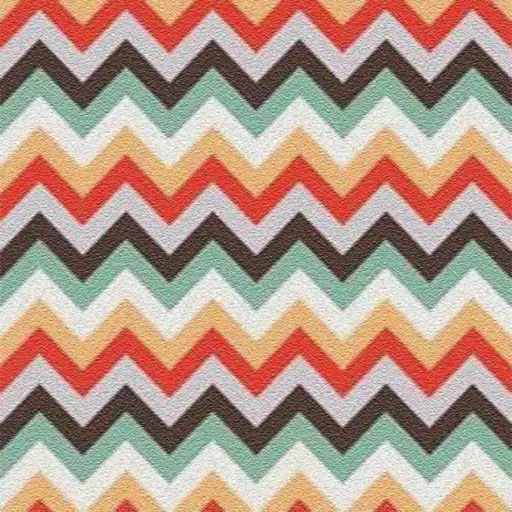 Adesivo para Azulejo Moderno Zig Zag Vinil 15x15cm 16 peças Cosi Dimora