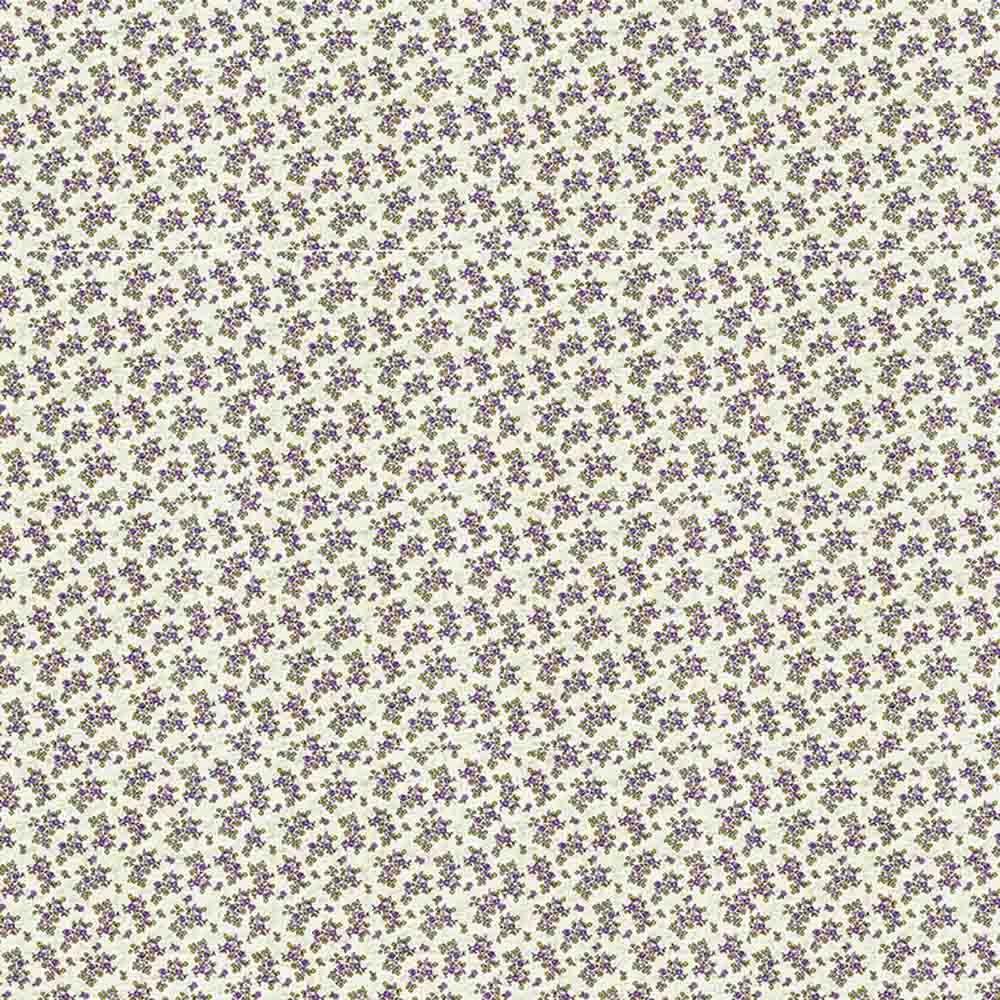 Adesivo para Azulejo Patchwork Floral Lilás Vinil 15x15cm 16 peças Cosi Dimora