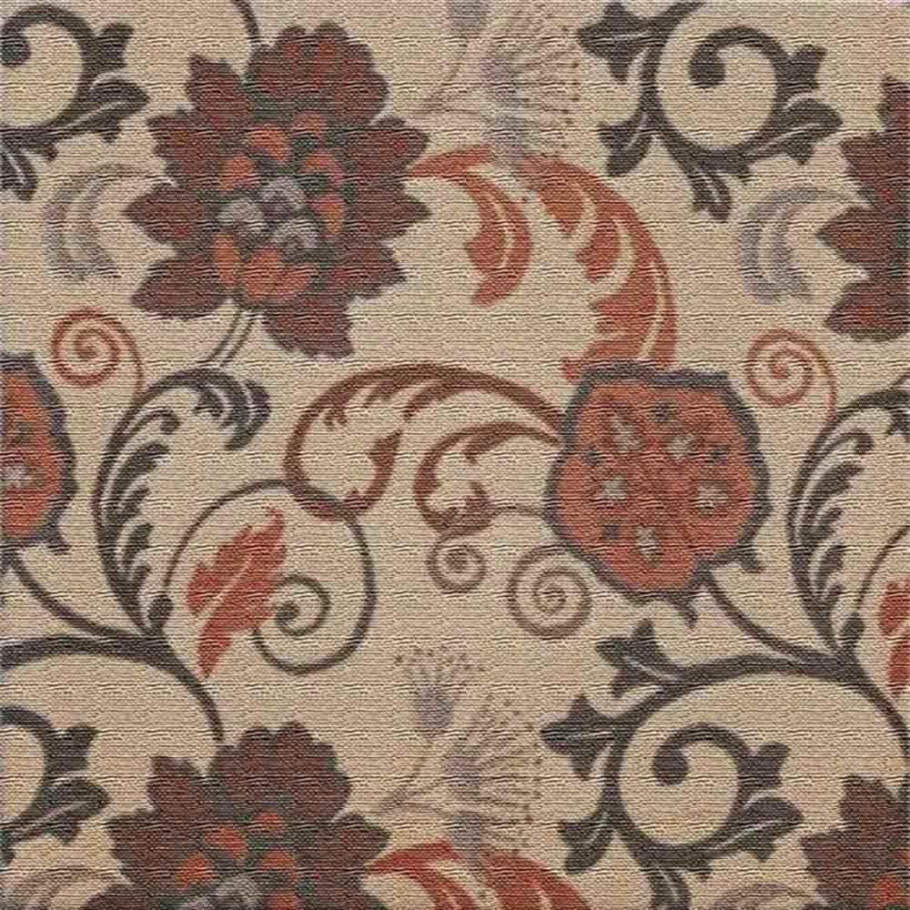 Adesivo para Azulejo Patchwork Floral Natural Vinil 15x15cm 16 peças Cosi Dimora