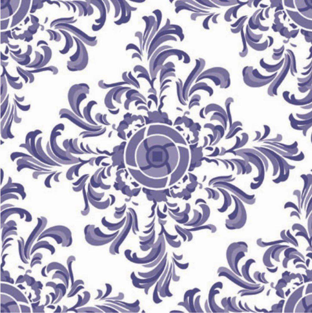 Adesivo para Azulejo Português Alentejo Vinil 15x15cm 16 peças Cosi Dimora