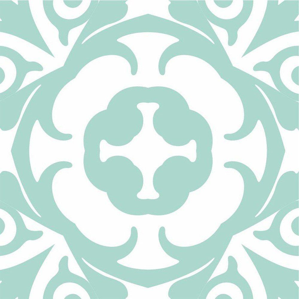 Adesivo para Azulejo Retrô Alpendre Vinil 15x15cm 16 peças Cosi Dimora