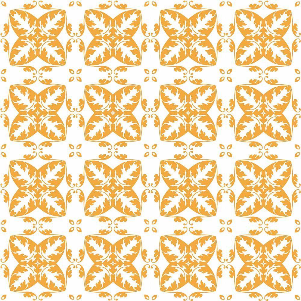 Adesivo para Azulejo Retrô Aposentos Vinil 15x15cm 16 peças Cosi Dimora