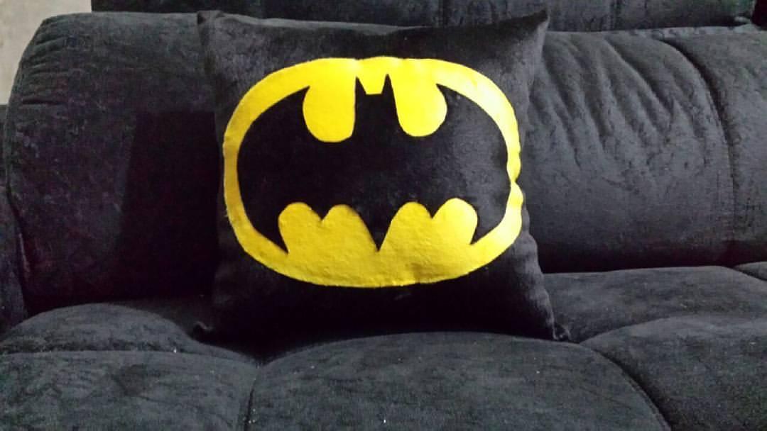 Almofada Batman Handmade Sensuelle