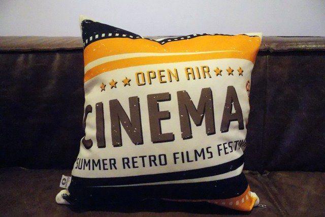 Almofada Cinema Open Air 40x40cm Cosi Dimora