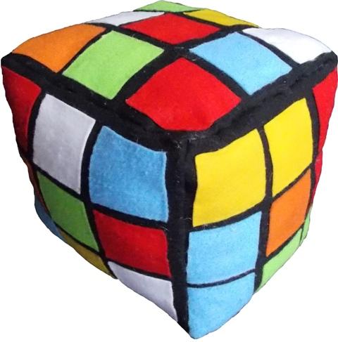 Almofada Cubo Mágico Handmade Sensuelle