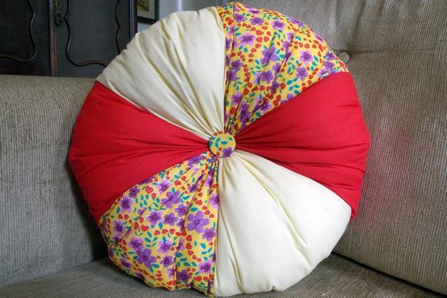 Almofada Fuxicão Flowers 40cm Cosi Dimora