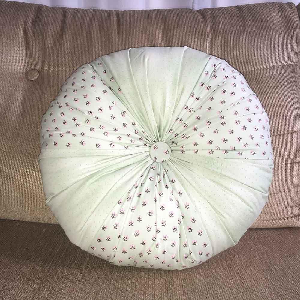 Almofada Fuxicão Green 40cm Cosi Dimora