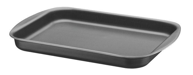 Assadeira rasa Tramontina de alumínio com revestimento interno antiaderente 39 x 28cm
