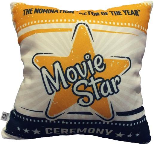 Capa de Almofada Cinema Movie Star 40x40cm Cosi Dimora