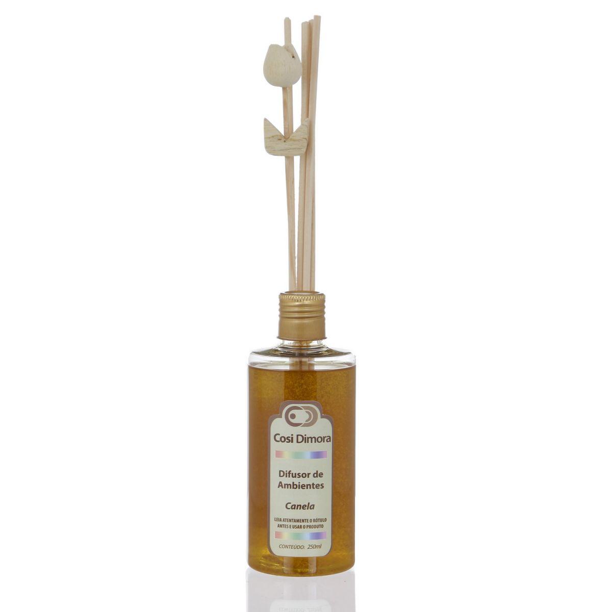 Difusor Aromatizador de Ambientes Canela 250ml