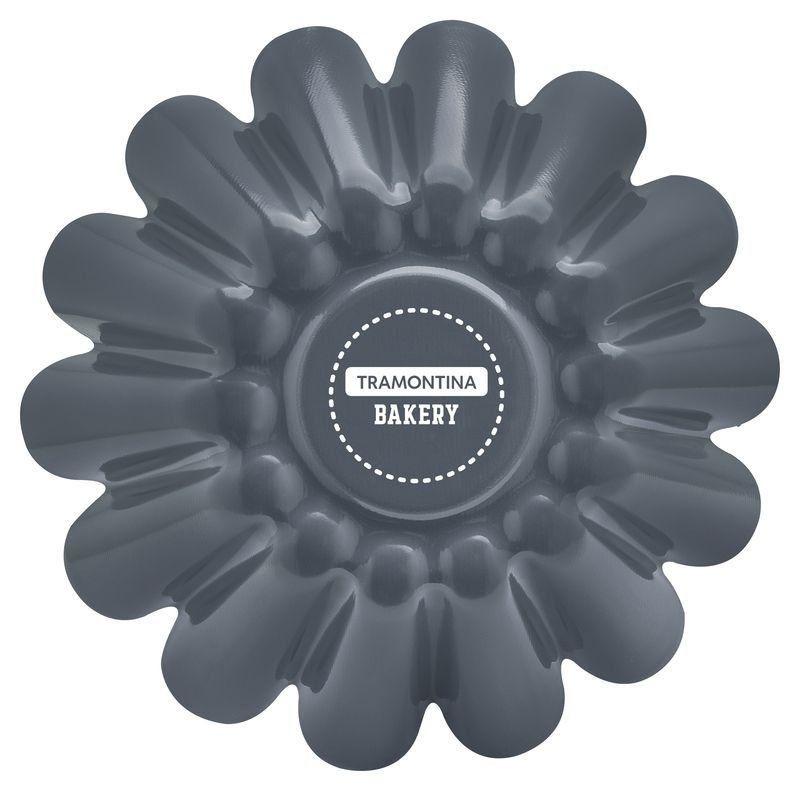 Forma para brioche Tramontina de alumínio com revestimento interno de antiaderente 22cm