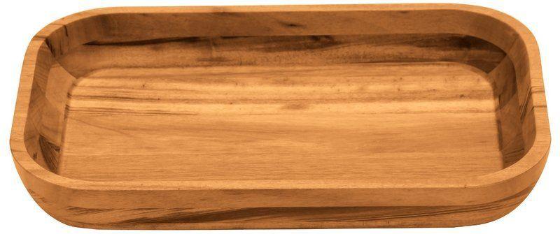 Gamela Churrasco Retangular Grande Madeira Muiracatiara 45x30cm Tramontina