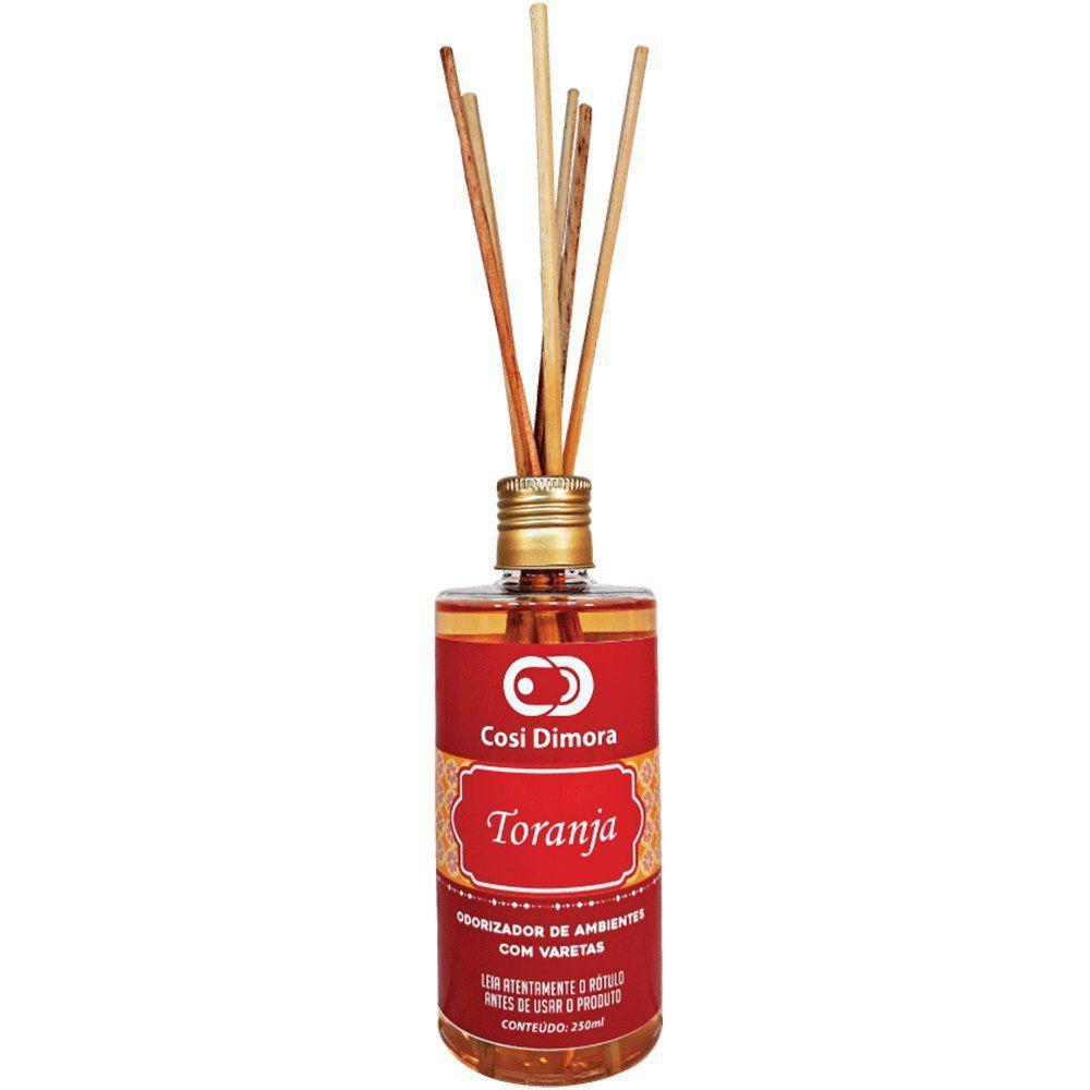 Kit Aromático Toranja Essência Importada Cosi Dimora 3 peças + Brinde